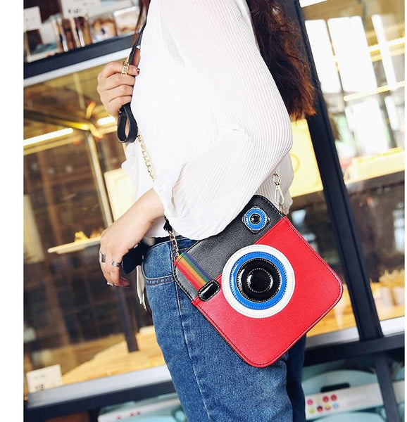 3D camera design chain handbag (1462498754603)