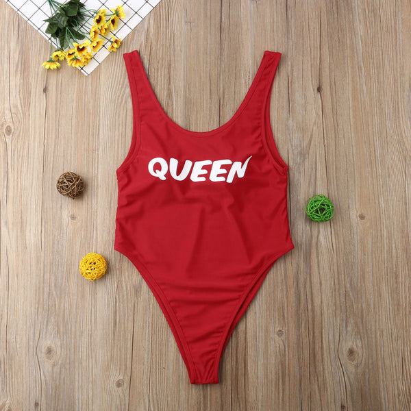 Princess queen mommy and baby daughter matching swimsuit (1793247739947)