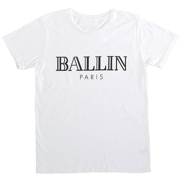 Ballin Paris printed retro tshirt (1462531784747)
