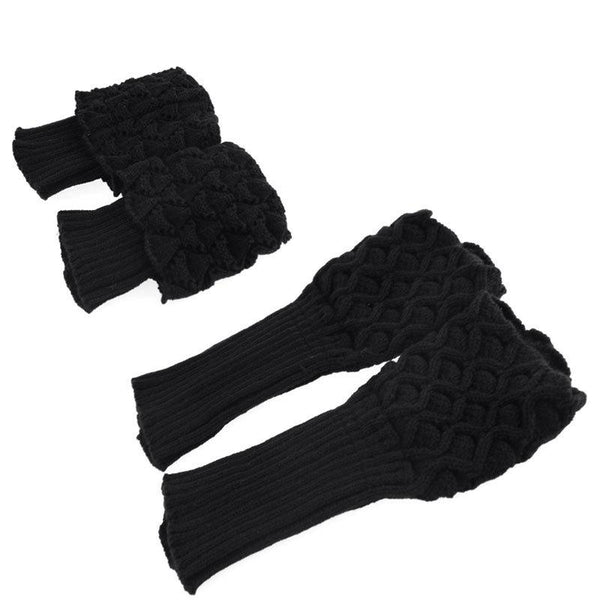 knitted boot cuff leg warmer - Iconic Trendz Boutique (1462533554219)