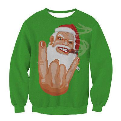 Funny ugly Christmas unisex pullover sweater - Iconic Trendz Boutique (1462533390379)