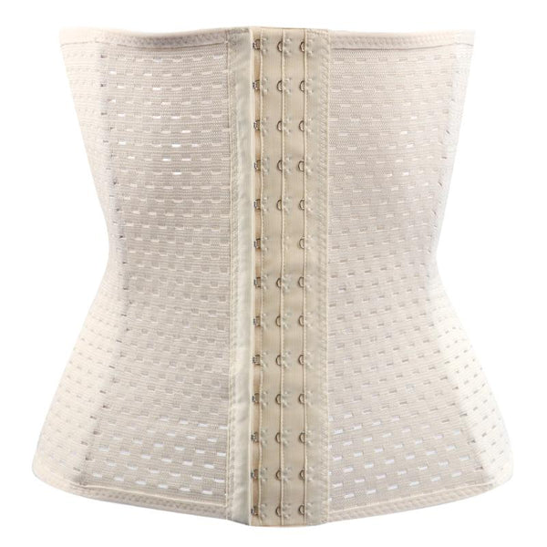 Waist trainer slimming belly fat fitness corset (1462530310187)