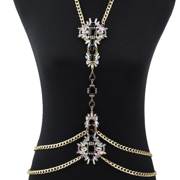 "Elegant ""bimi"" statement body chain - Iconic Trendz Boutique (1462574809131)"