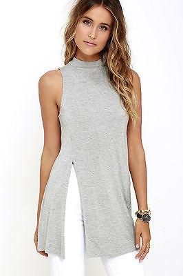 Side split mock neck top - Iconic Trendz Boutique (1462574546987)