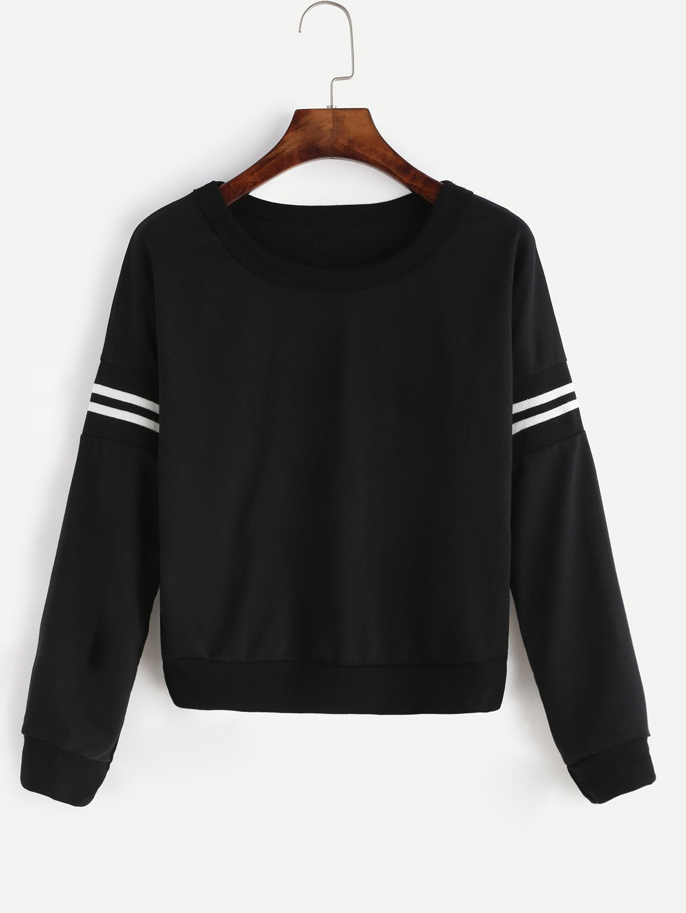 Varsity pullover fashion sweater (1462518153259)