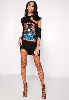 All a dream rocker distressed tshirt dress - Iconic Trendz Boutique (1462566617131)
