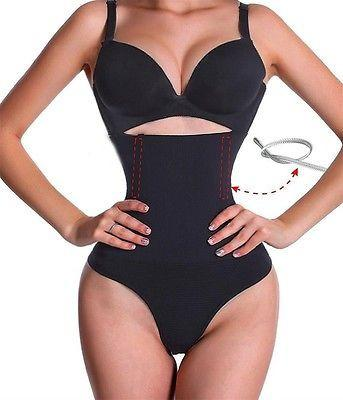Slimming Tummy Control cincher High waisted thong underwear - Iconic Trendz Boutique (1462566715435)