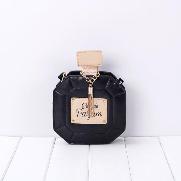 3D perfume detail chain handbag - Iconic Trendz Boutique (1462553804843)
