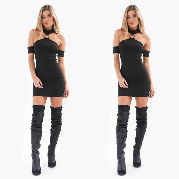 """Show off"" bodycon mini dress - Iconic Trendz Boutique (1462549774379)"