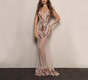 """Pure"" elegant long evening party dress - Iconic Trendz Boutique (1462548693035)"