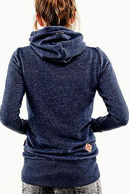 Comfy double turtle neck fashion hoodie sweater - Iconic Trendz Boutique (1462547775531)