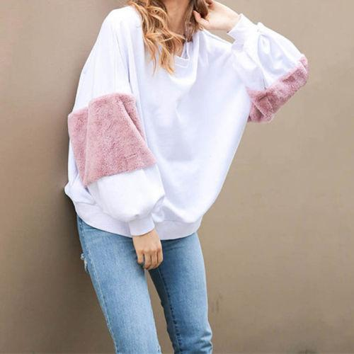 """Raven"" balloon fluffy sleeve oversize pullover sweater - Iconic Trendz Boutique (1462539681835)"