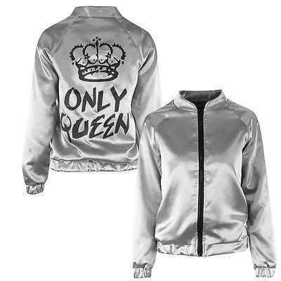 Only Queen fashion bomber jacket - Iconic Trendz Boutique (1462537715755)
