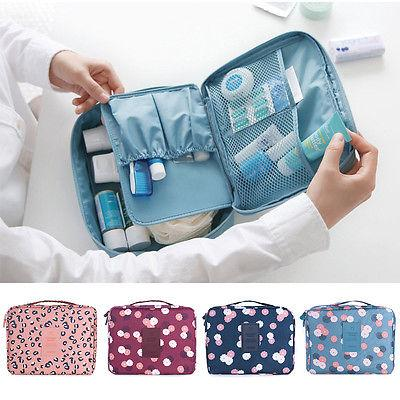 """Iconic beauty"" Compact Makeup toiletry travel organizer Bag - Iconic Trendz Boutique (1462534635563)"