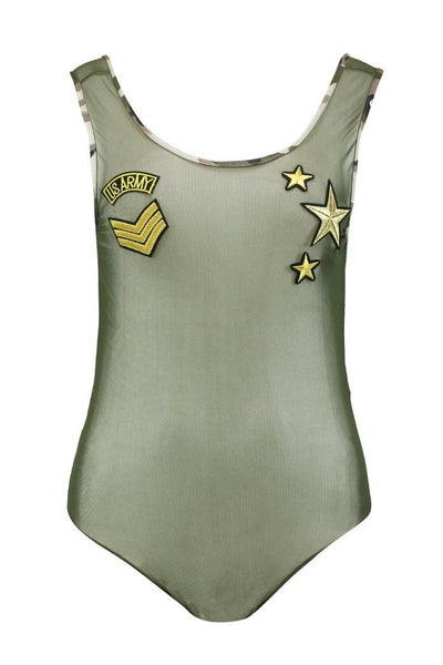 Official army babe bodysuit - Iconic Trendz Boutique (1462577889323)