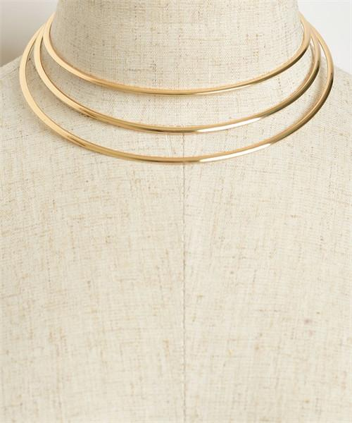 3 layer fashion choker necklace - Iconic Trendz Boutique (1462582804523)