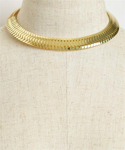 retro elegant choker necklace - Iconic Trendz Boutique (1462582738987)
