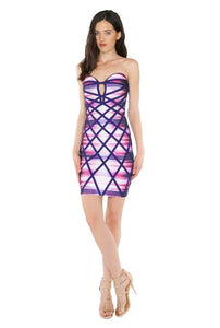 """Showstopper"" bandage bodycon dress *exclusive* - Iconic Trendz Boutique (1462582116395)"