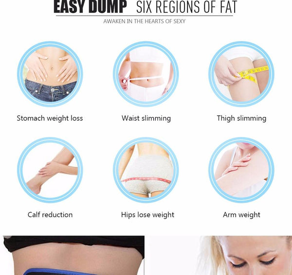 Slimming Body Muscle leg Waist Arm Belt trimmer electronic massager belt - Iconic Trendz Boutique (1462553215019)