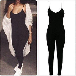 """runway"" Sexy one piece bodycon jumpsuit - Iconic Trendz Boutique (1462572548139)"