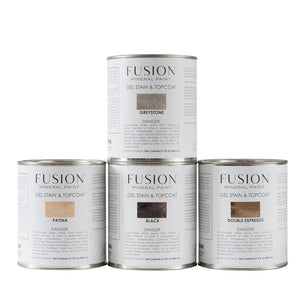 Fusion Mineral Paint Gel Stain & Topcoat Quart - The Reclaimed Treasures LLC