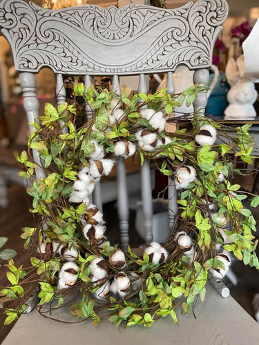 Cotton Twig Wreath - The Reclaimed Treasures LLC