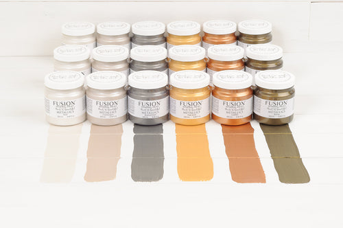 Fusion Mineral Paint Metallics - The Reclaimed Treasures LLC