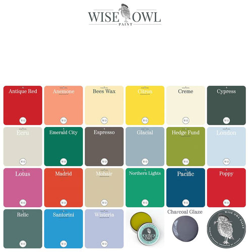 Wise Owl Paint Retiring Colors - PINTS - The Reclaimed Treasures LLC