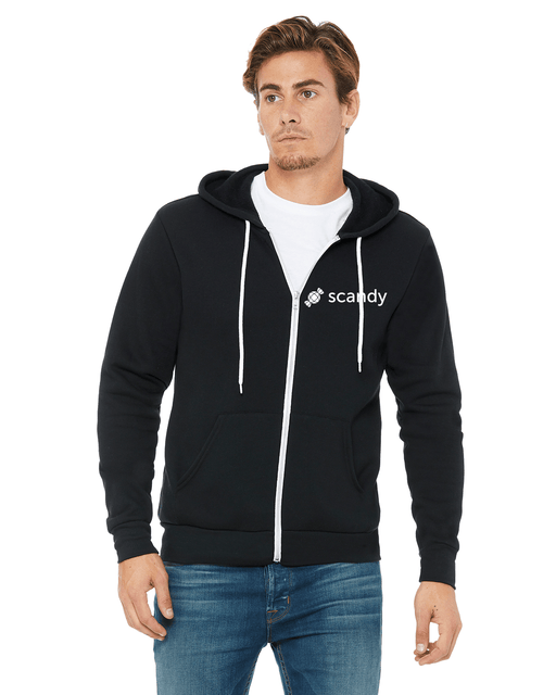Scandy Zip Up Hoodie