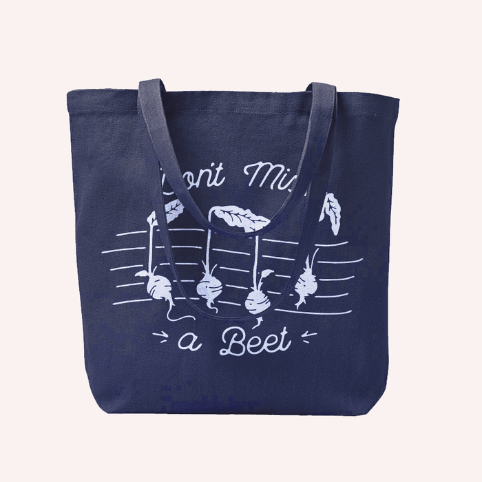 Don't Miss A Beet Tote