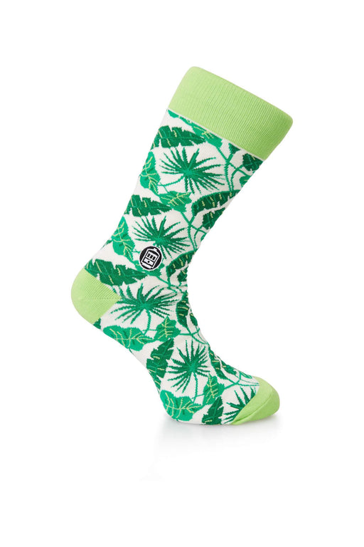 Bonfolk Socks - Tropical Leaf