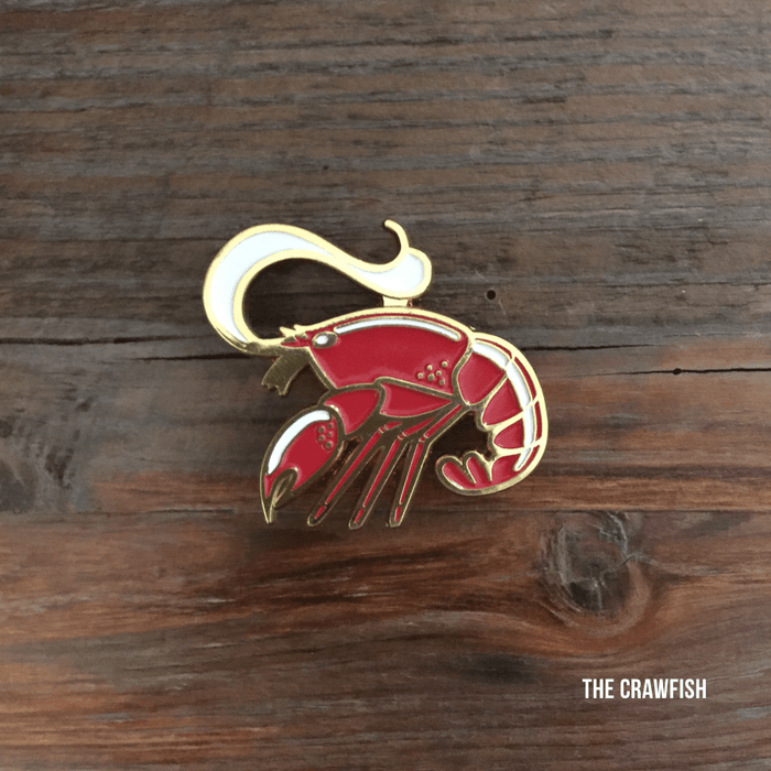 Crawfish Pin