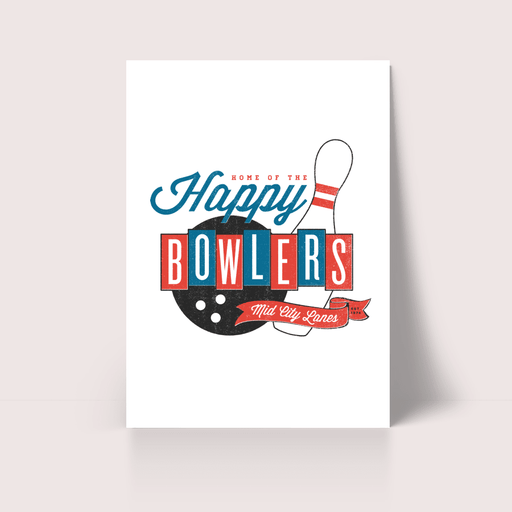 Happy Bowlers Poster