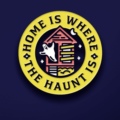 Haunting Supply Co. Pin