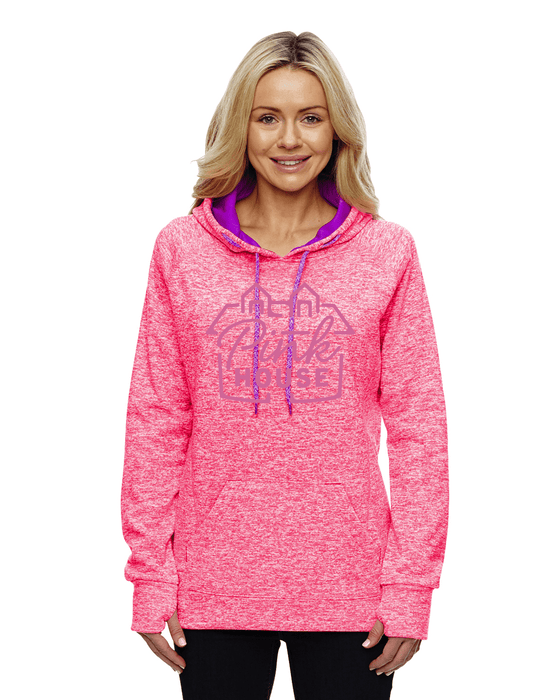 Pink House Pink Pullover Hoodie