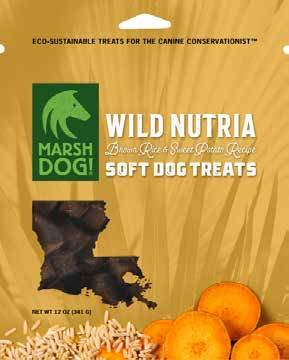 Wild Nutria Soft Dog Treats
