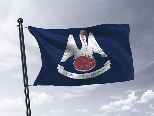 Union Justice Crawfish Flag