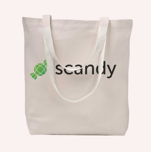 Scandy Tote Bag Natural