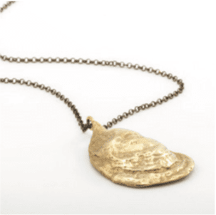 Oyster Shell Pendant