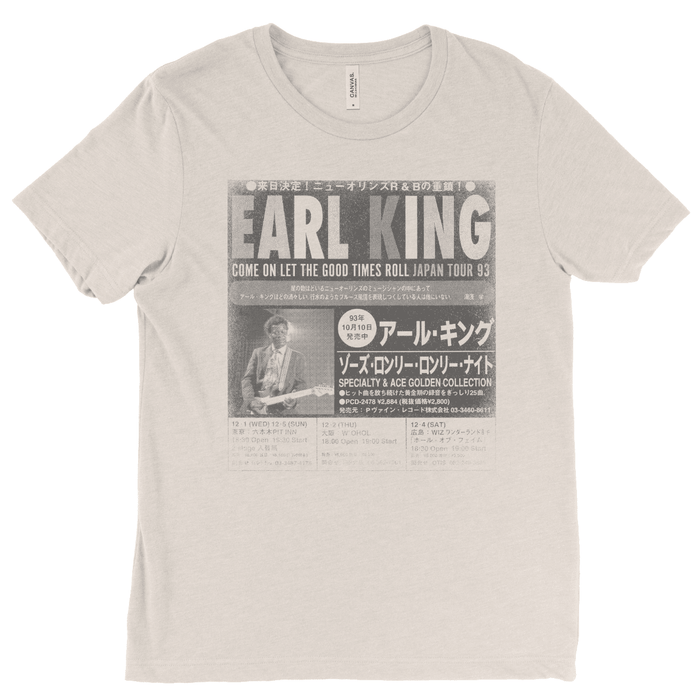 Earl King Japanese Tour Poster Tee