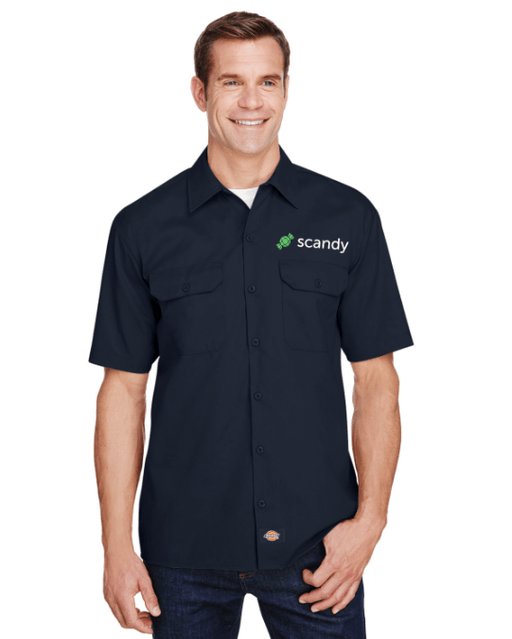Scandy Button Down