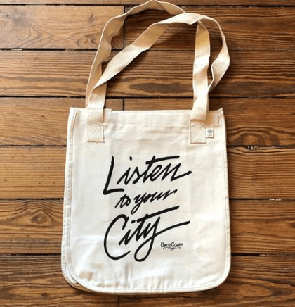 Listen To Your City Tote