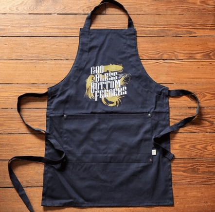 God Bless the Bottom Feeders Apron