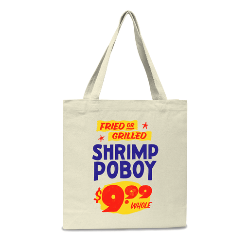 Shrimp Po-Boy Tote