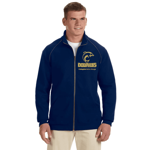 Collegiate BR Adult Fleece Zip-Up