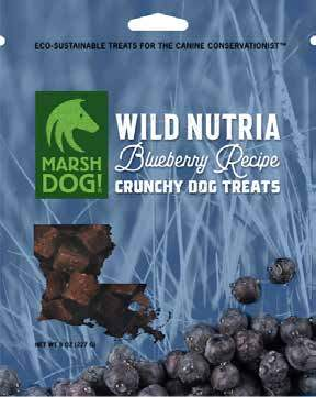 Wild Nutria Crunchy Dog Treats