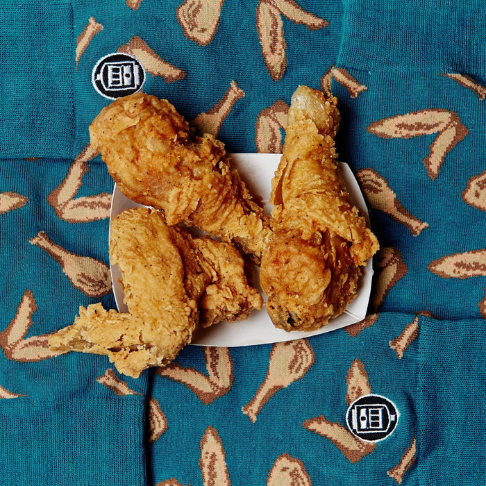 Bonfolk Socks Bonfolk Socks - Fried Chicken