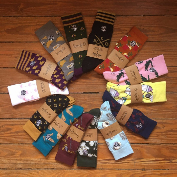 Bonfolk Socks Bonfolk Socks - Louisiana
