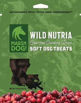 Wild Nutria Soft Dog Treats (Grain-Free)
