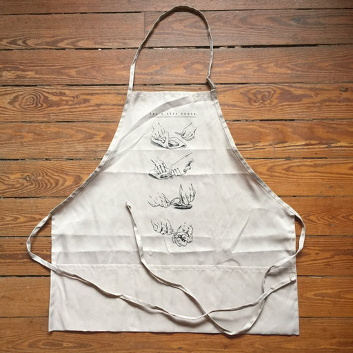Dirty Coast Press Apron The 4 Step Shuck Apron